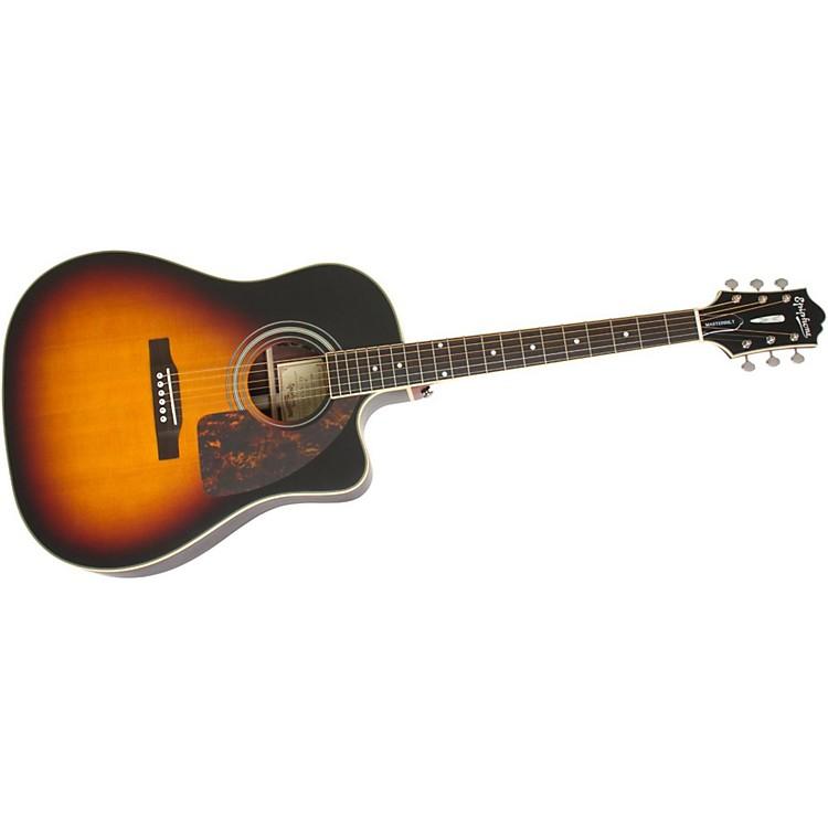epiphone masterbilt aj 500rce acoustic electric guitar vintage sunburst music123. Black Bedroom Furniture Sets. Home Design Ideas