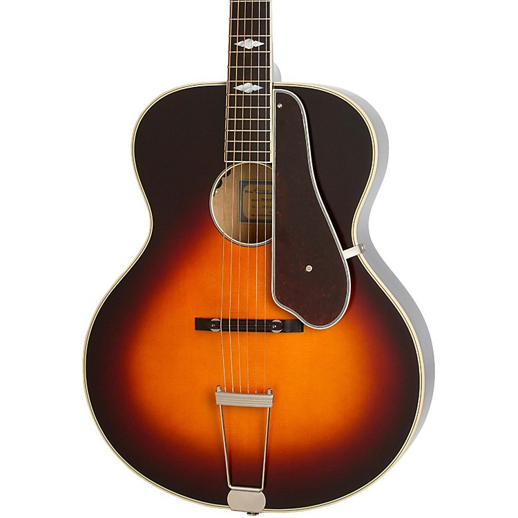 EpiphoneMasterbilt Century Collection De Luxe Archtop Acoustic-Electric GuitarVintage Sunburst