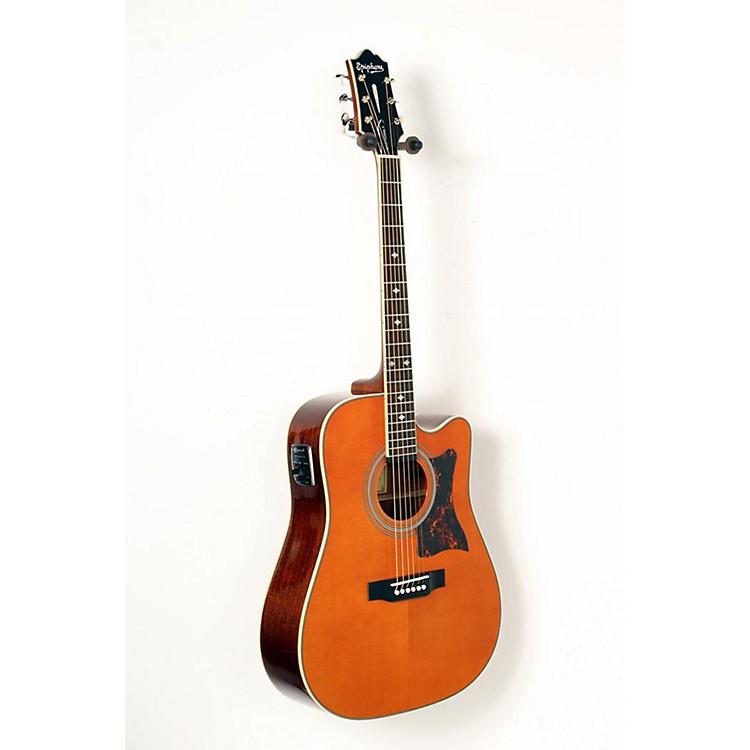 EpiphoneMasterbilt DR-500MCE Acoustic-Electric GuitarNatural888365851266