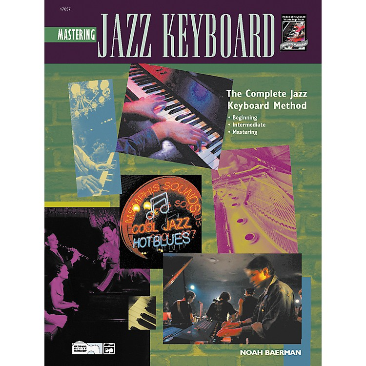 Alfred Mastering Jazz Keyboard (Book/CD)