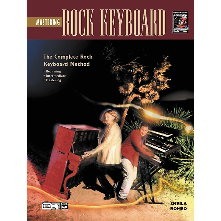 Alfred Mastering Rock Keyboard (Book/CD)