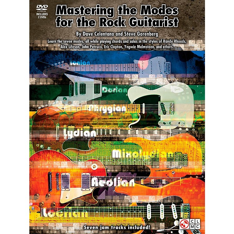 Cherry LaneMastering The Modes For The Rock Guitarist - Book/2 DVD Pack