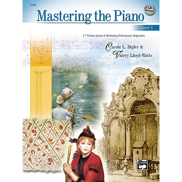 AlfredMastering the Piano Level 2