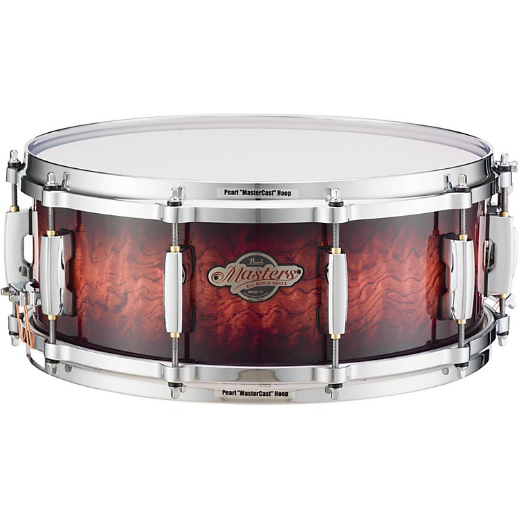 PearlMasters BCX Birch Snare Drum14 x 5.5 in.Silver Glitter