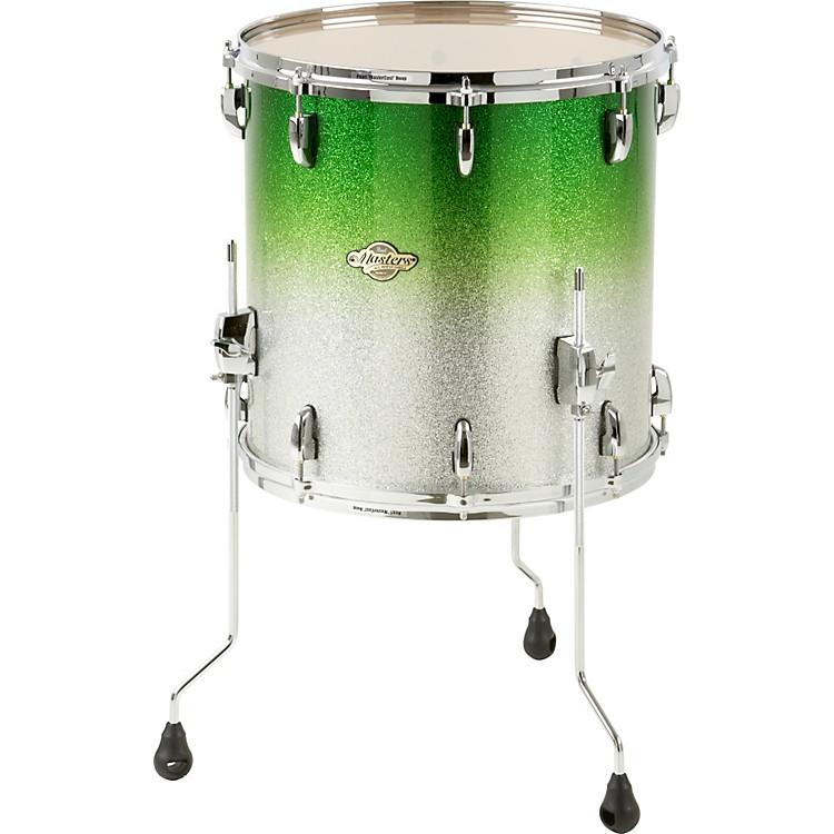 Pearl masters mcx floor tom drum 16 x 16 in bronze glass for 16 floor tom drum
