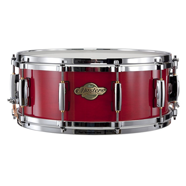 Pearl Masters MCX Series Snare Drum Sequoia Red with Chrome Hardware 14x5.5