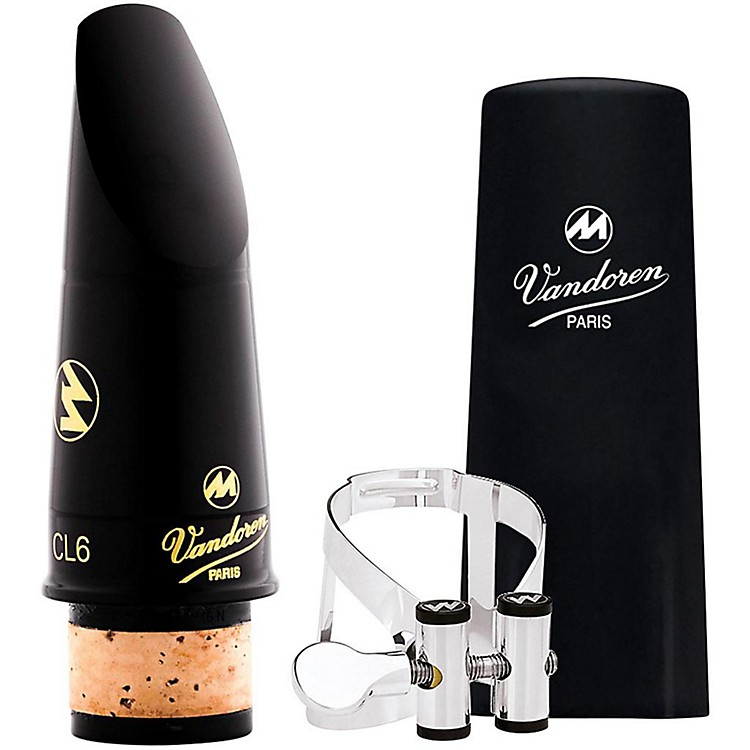 VandorenMasters Mouthpiece Kit CL6 with Masters M/O Silver Ligature and Cap - SPECIAL