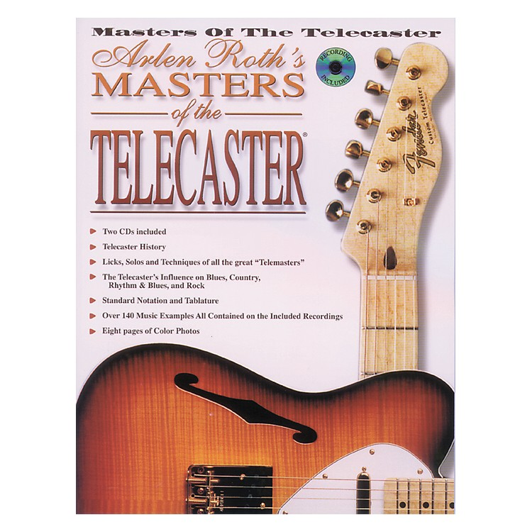 AlfredMasters of The Telecaster Book w/2 CDs