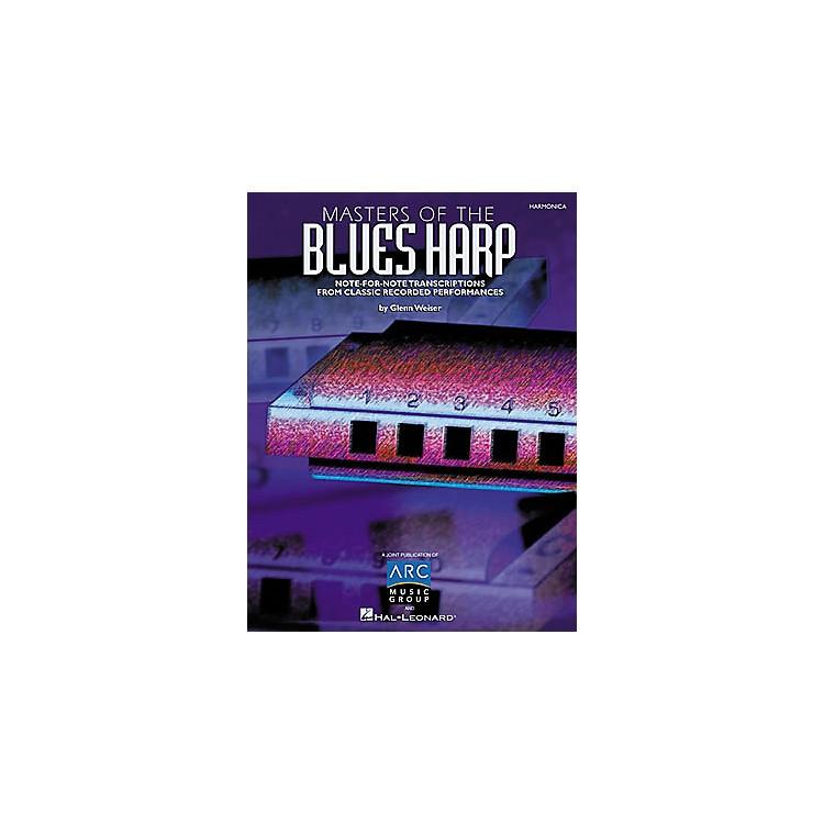 Hal LeonardMasters of the Blues Harp Book