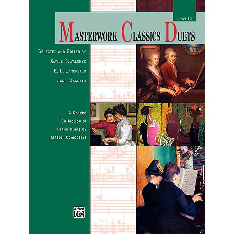 AlfredMasterwork Classics Duets Level 10 Early Advanced / Advanced