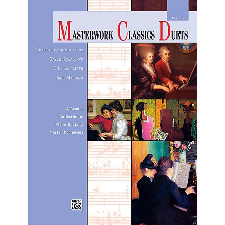 AlfredMasterwork Classics Duets Level 3 Late Elementary / Early Intermediate