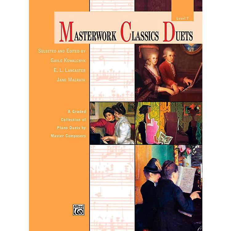 AlfredMasterwork Classics Duets Level 7 Late Intermediate
