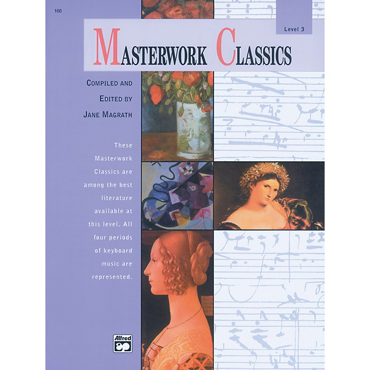 Alfred Masterwork Classics Level 3 Level 3 Book & CD
