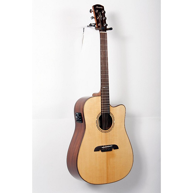 AlvarezMasterworks MD60CE Dreadnought, All-Solid Electric-Acoustic GuitarNatural888365739823