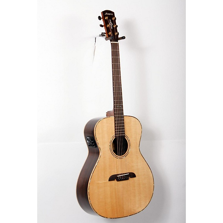 Alvarez Masterworks MGA70E Grand Auditorium Acoustic Electric Guitar Natural 888365770505