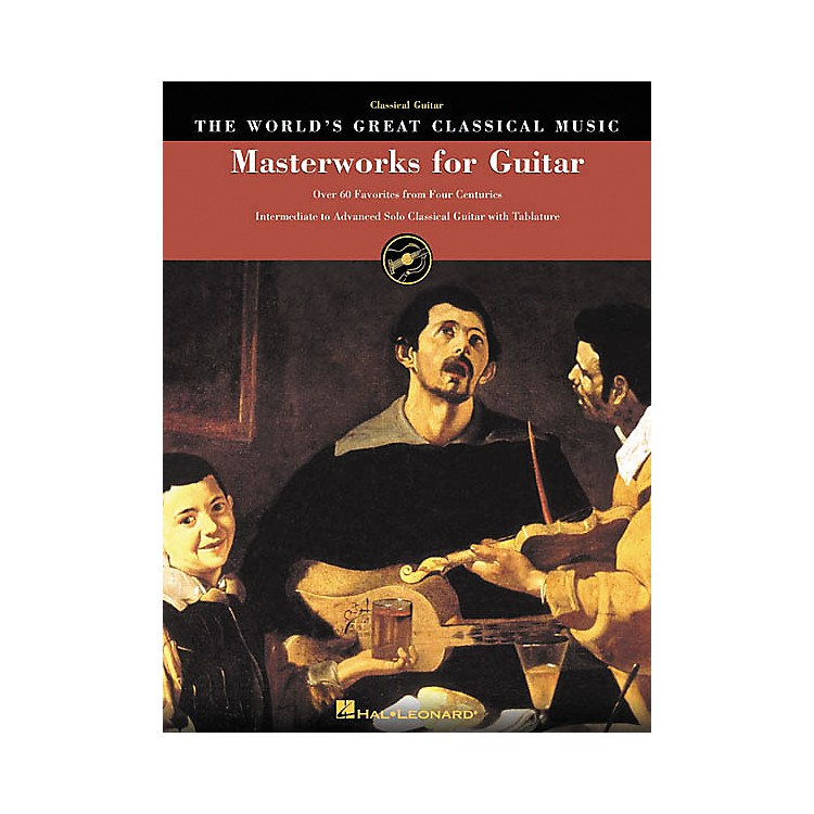Hal LeonardMasterworks for Guitar Great Classical Music Tab & Notation