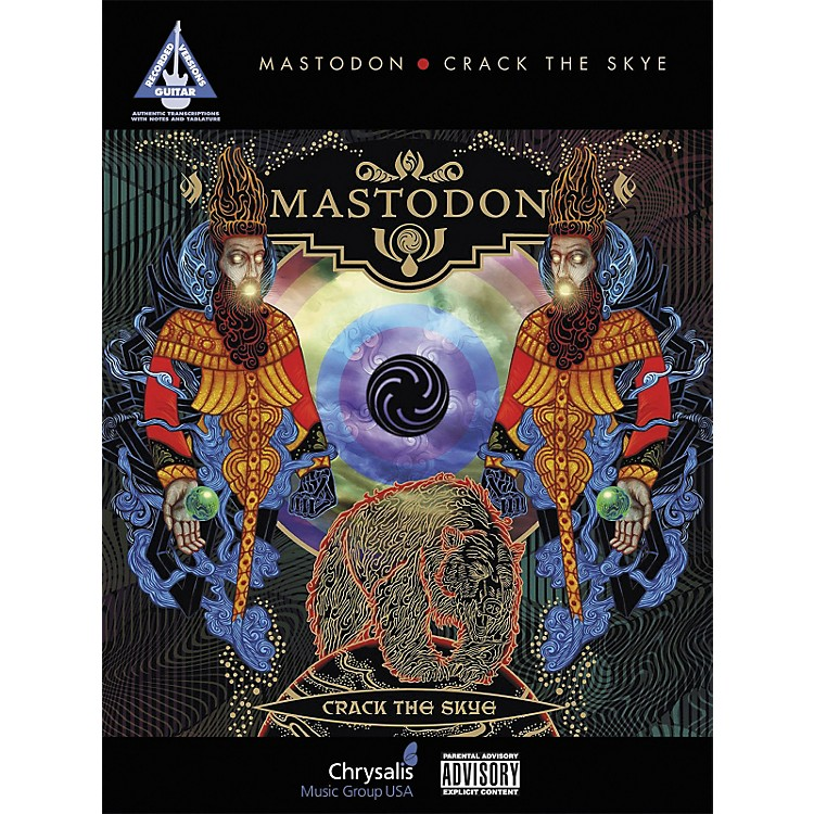 Hal Leonard Mastodon - Crack The Skye (Guitar Tab Songbook)