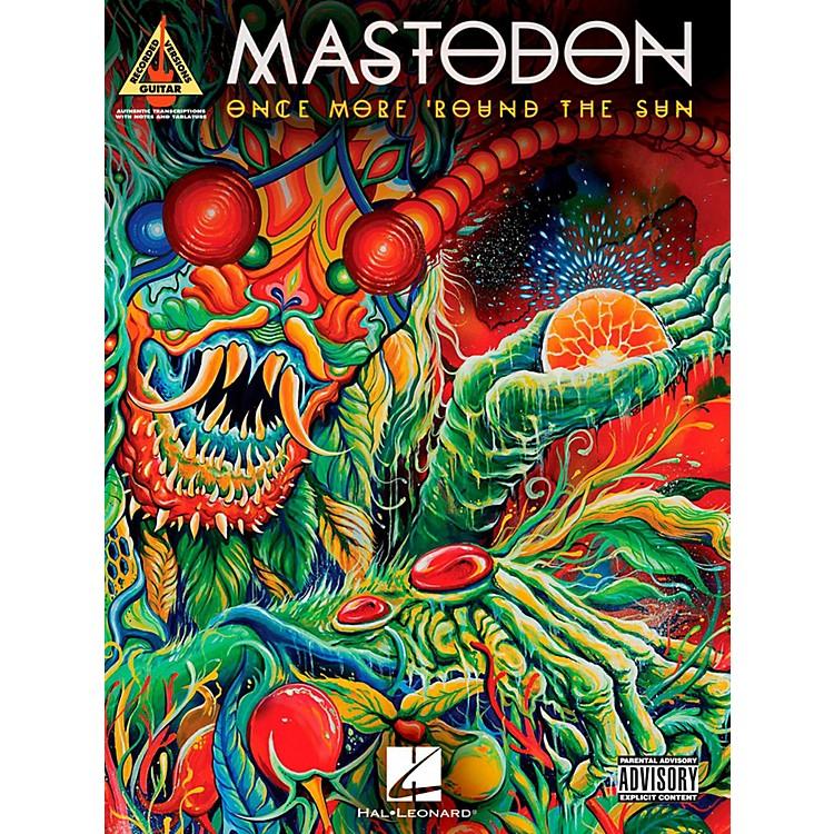Hal LeonardMastodon - Once More 'Round The Sun Guitar Tab Songbook