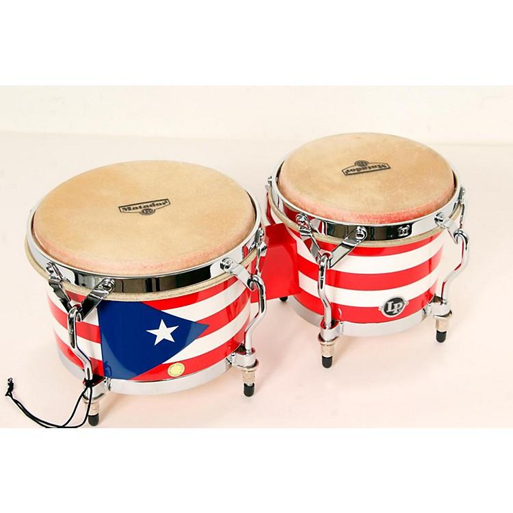LPMatador Puerto Rican Flag Bongos888365818900