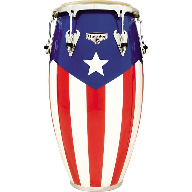 LPMatador Puerto Rican Flag Conga12-1/2 in.