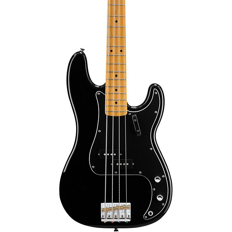 Squier Matt Freeman Precision Bass Guitar Maple Fretboard Black