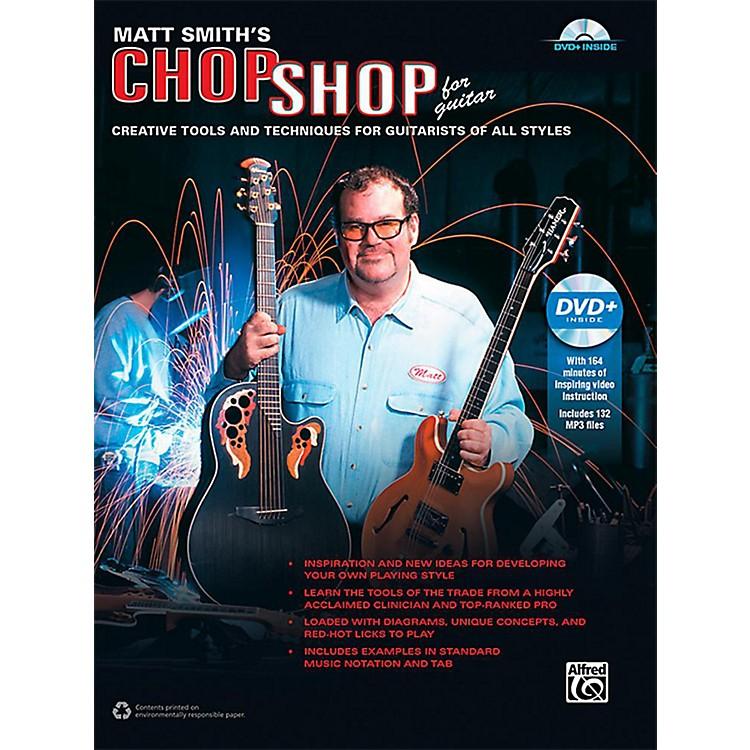 AlfredMatt Smith's Chop Shop for Guitar - Book & DVD