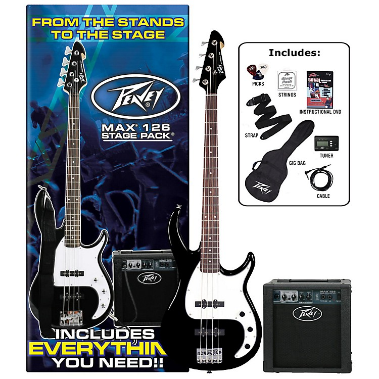 Peavey Max Electric Bass Value Pack