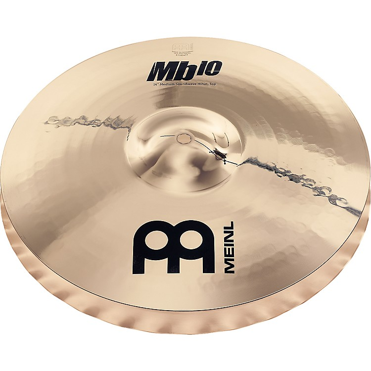 Meinl Mb10 Medium Soundwave Hi-Hat Cymbals 15 in.