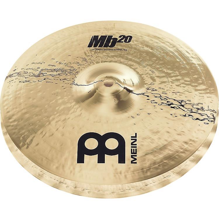 MeinlMb20 Heavy Soundwave Hi-Hat Cymbals15 in.
