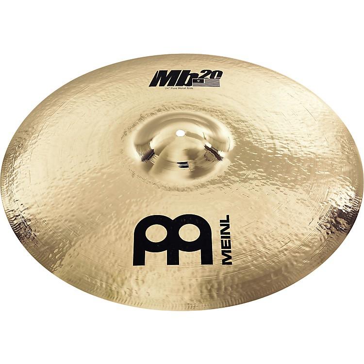 MeinlMb20 Pure Metal Ride Cymbal24 in.