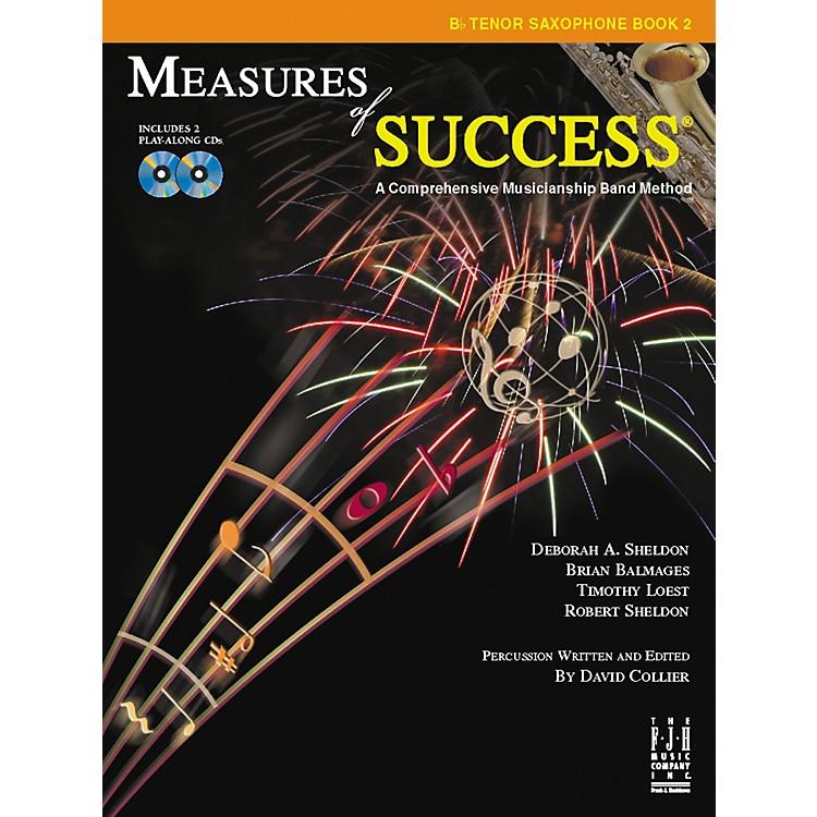 FJH MusicMeasures of Success® B-flat Tenor Saxophone Book 2