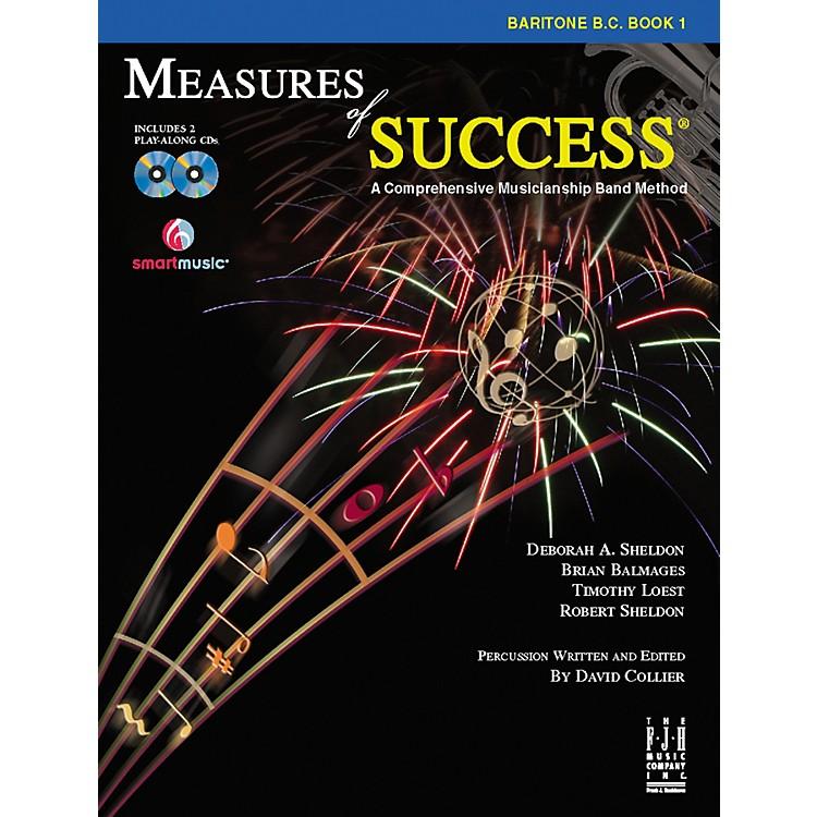 FJH MusicMeasures of Success Baritone B.C. Book 1