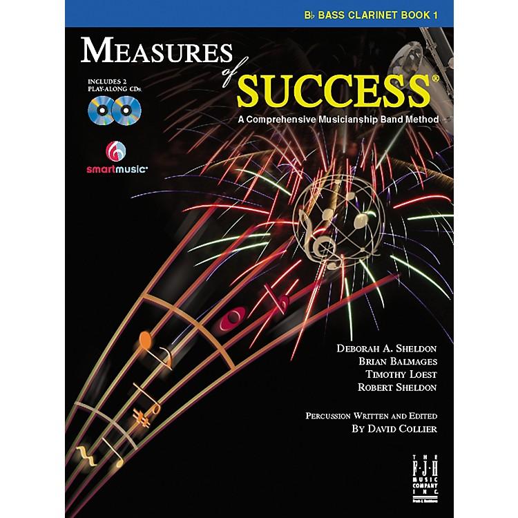 FJH MusicMeasures of Success Bass Clarinet Book 1