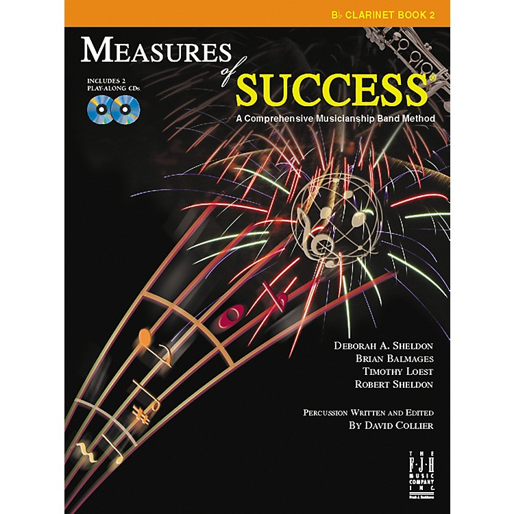 FJH MusicMeasures of Success Clarinet Book 2