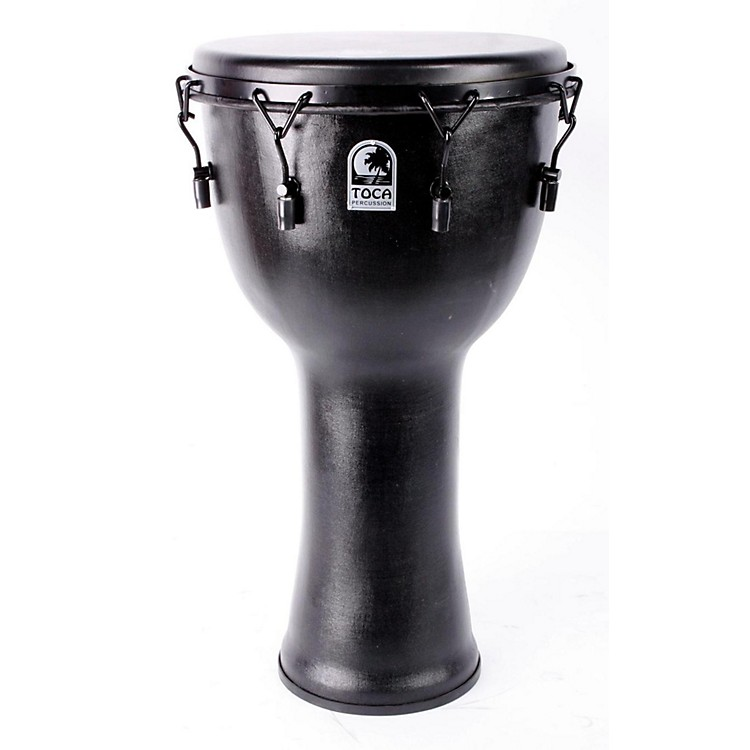 Toca Mechanically Tuned Djembe with Extended Rim 14 in. 886830991554