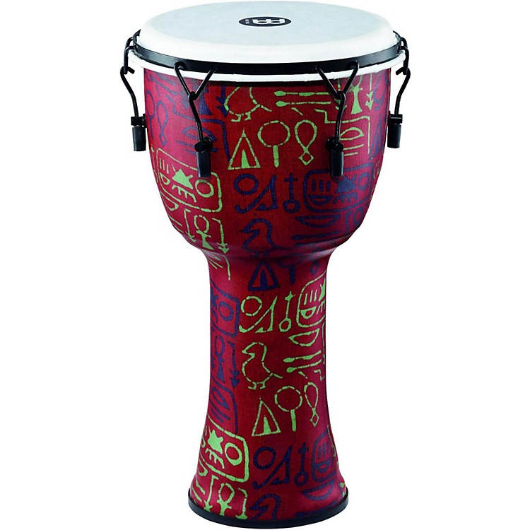 MeinlMechanically Tuned Djembe with Synthetic Shell and Head12 in.Pharaoh's Script