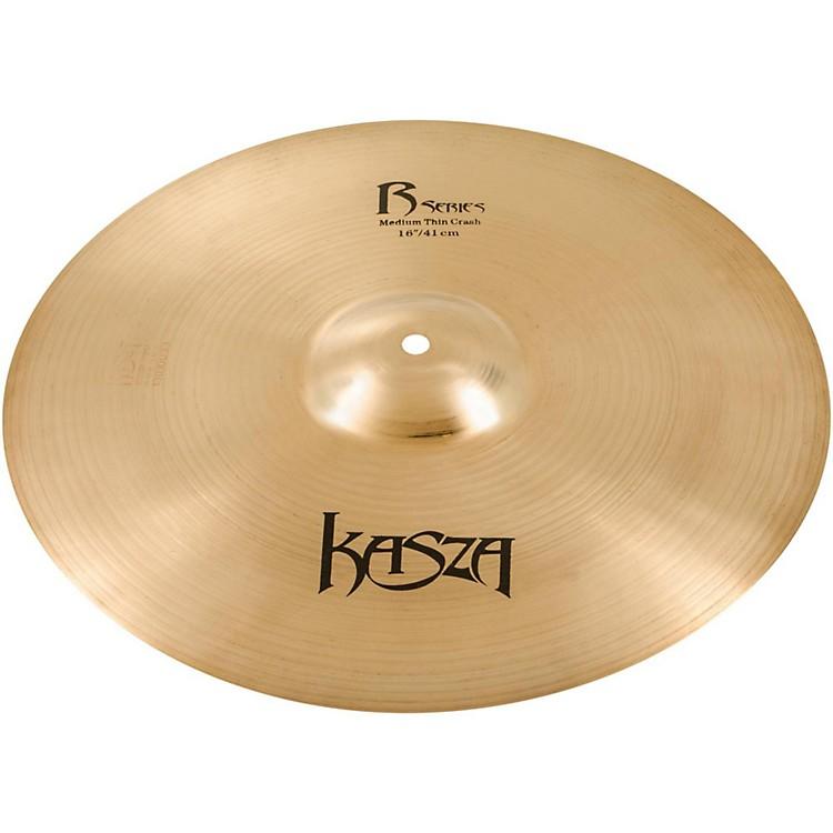 Kasza CymbalsMedium Thin Rock Crash Cymbal15 in.