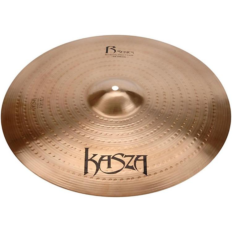 Kasza CymbalsMedium Thin Rock Crash Cymbal18 in.