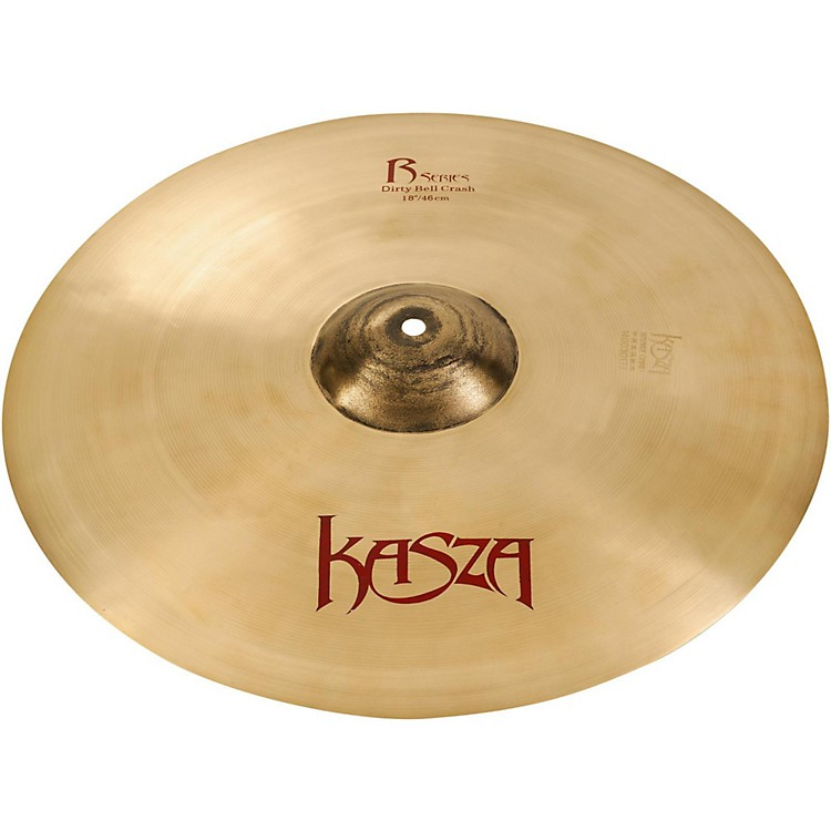 Kasza CymbalsMedium Thin Rock Crash Cymbal19 in.
