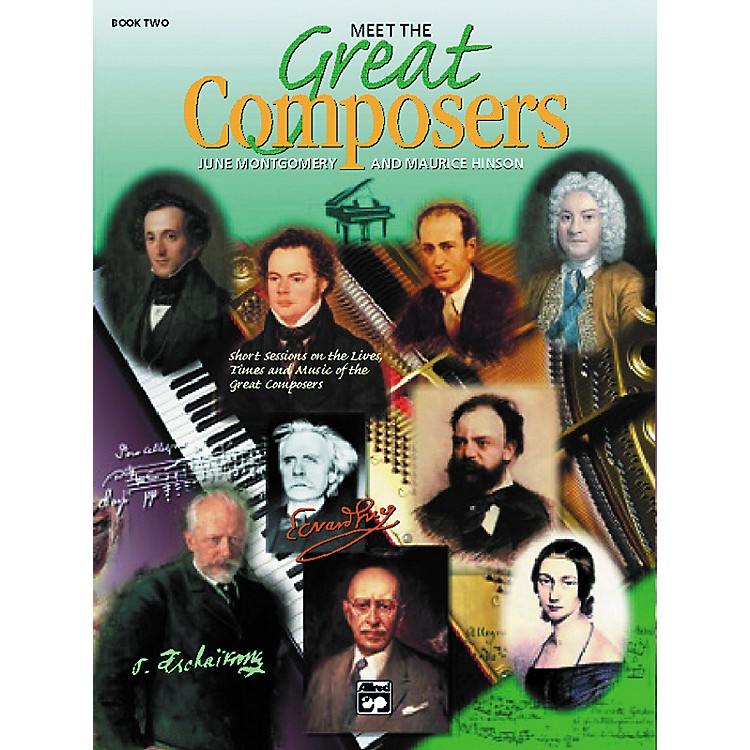 AlfredMeet the Composers 2 CD Classroom Kit