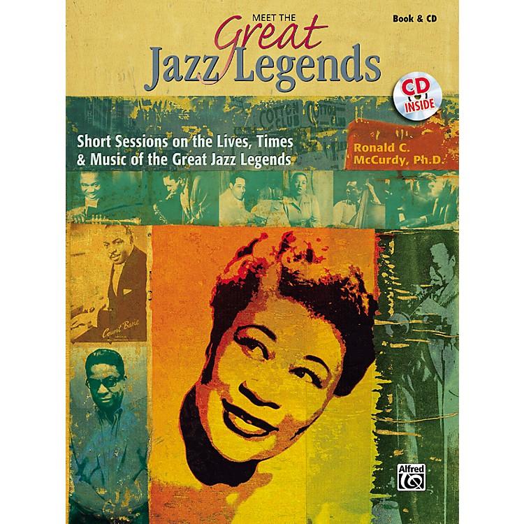 AlfredMeet the Great Jazz Legends Book/CD