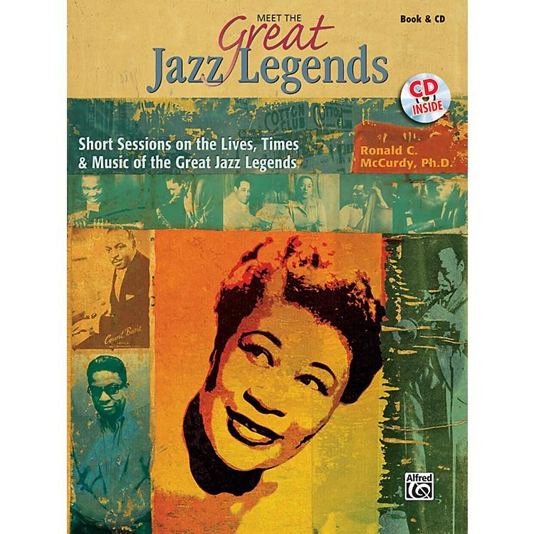 AlfredMeet the Great Jazz Legends Book & CD