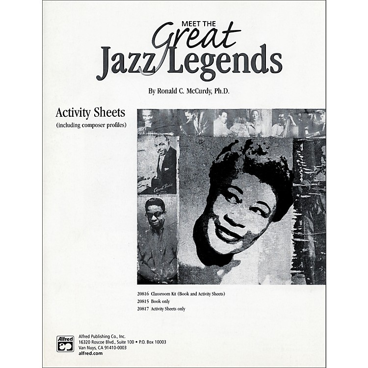 Alfred Meet the Great Jazz Legends: Textbook