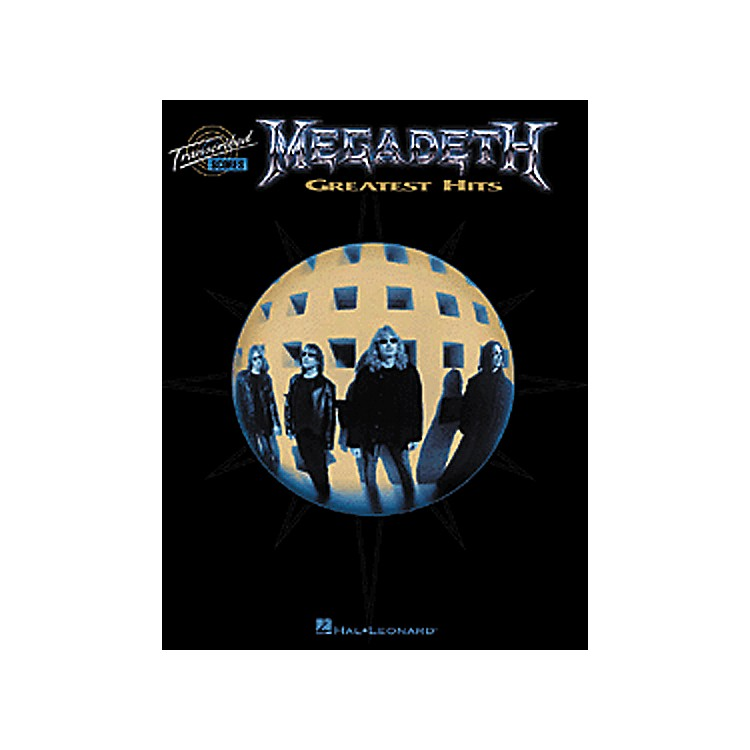Hal Leonard Megadeth Greatest Hits Book