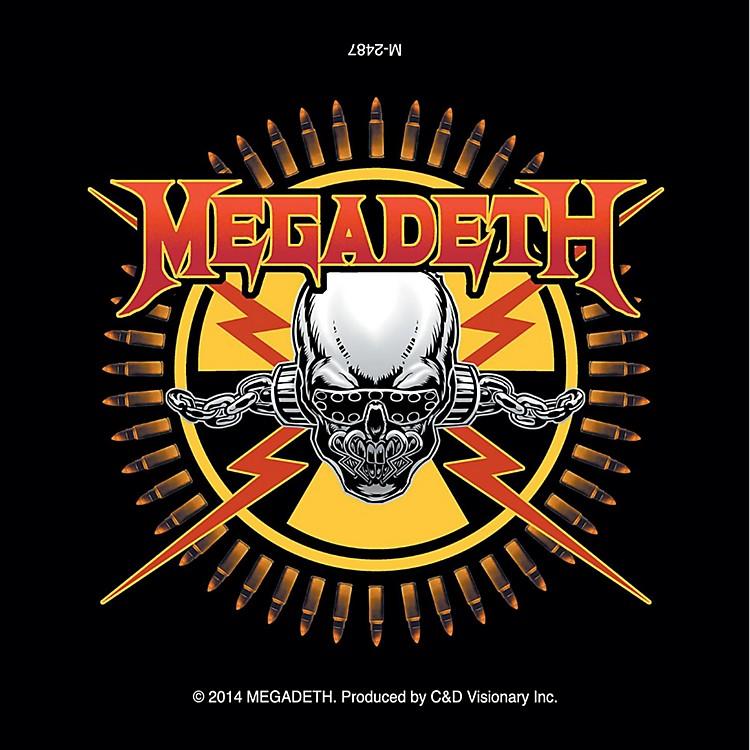 C&D VisionaryMegadeth Magnet - Skull & Bullets