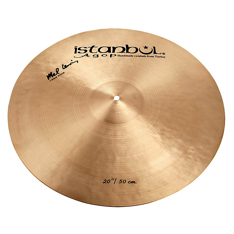 Istanbul Agop Mel Lewis Ride Cymbal 20 in.