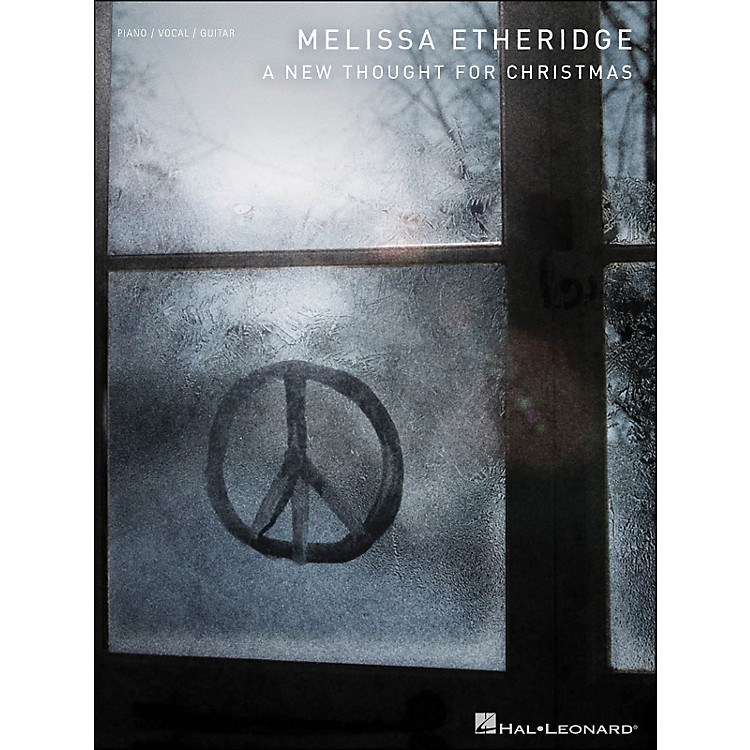 Hal LeonardMelissa Etheridge A New Thought for Christmas arranged for piano, vocal, and guitar (P/V/G)