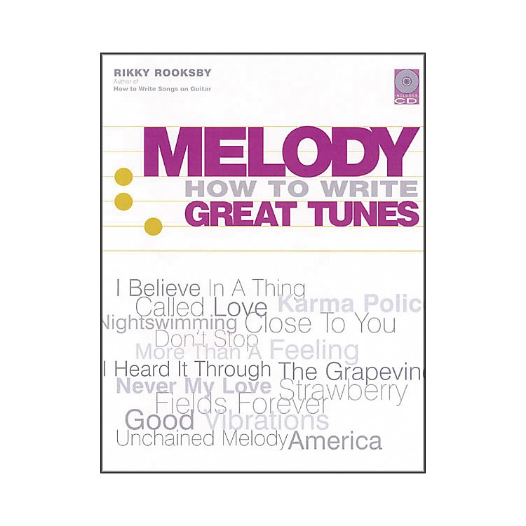 Backbeat BooksMelody - How to Write Great Tunes (Book and CD Package)
