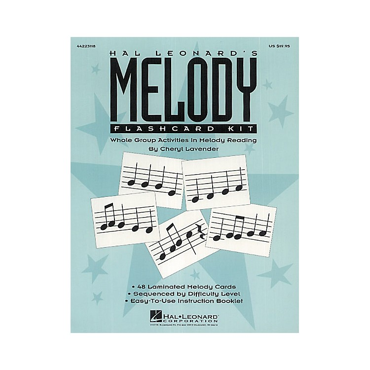 Hal Leonard Melody Flashcard Kit