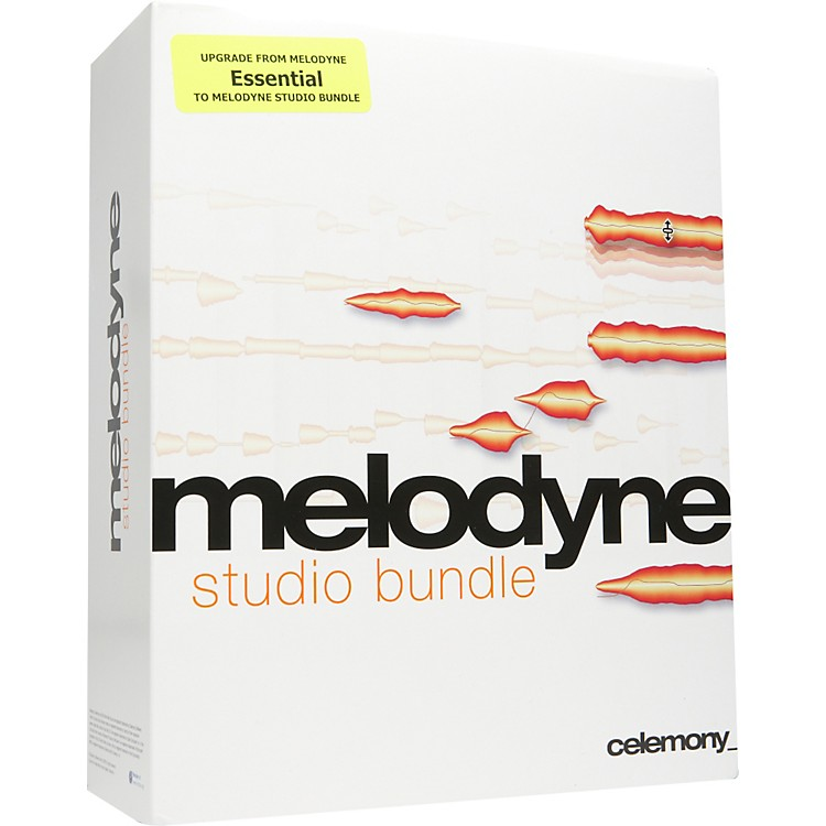 Celemony Melodyne studio bundle Upgrade From essentials Vol. 1 and 2